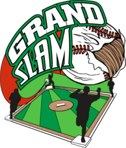 "1 1/4"" Grand Slam Baseball Pin-2980"