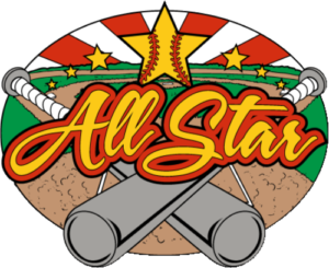 "1 1/4"" All Star Softball Pin-2962"