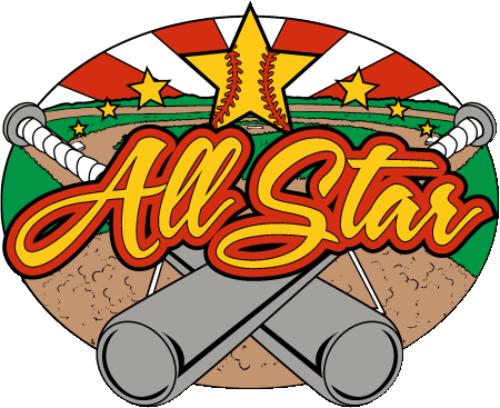 "1 1/4"" All Star Softball Pin-2962"