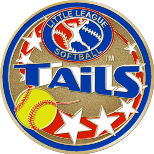 "1 1/2"" Little League Softball Coin-3009"
