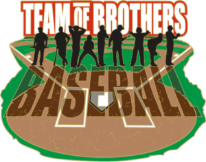 "1 3/4"" Team of Brothers Baseball Trading Pin-2970"