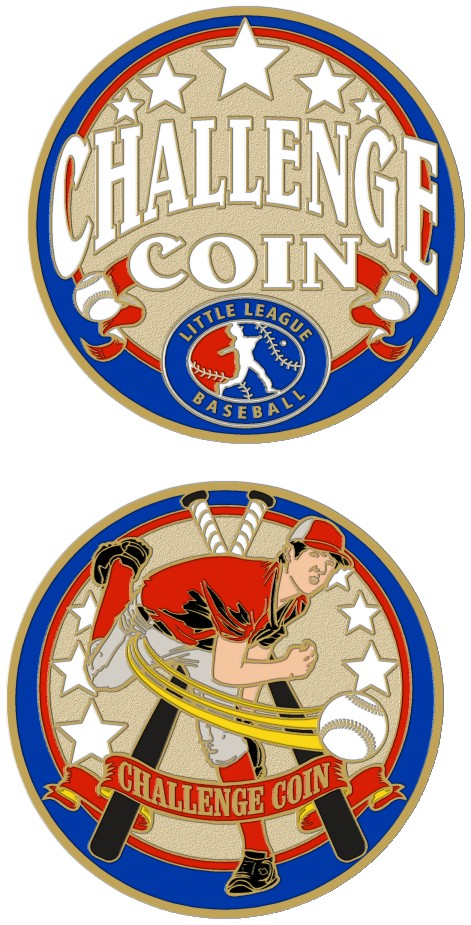 "1 1/2"" Challenge Coin-3120"