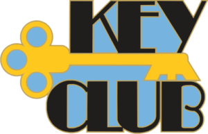 "1"" Key Club School Pin-2936"