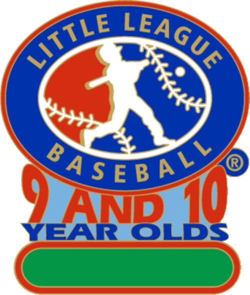 "1 1/4"" 9-10 All Purpose Baseball Pin-2786"
