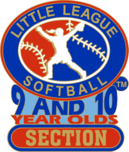 "1 1/4"" 9-10 Section Softball Pin-2831"
