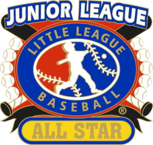 "1 1/4"" Junior League All Star Baseball Pin-2807"