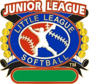 "1 1/4"" Junior League All Purpose Softball Pin-3076"
