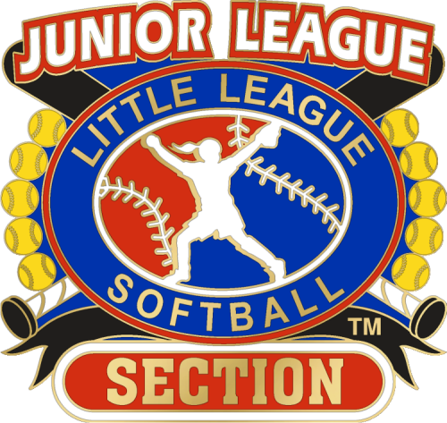 "1 1/4"" Junior League Section Softball Pin-2846"