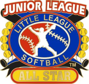 "1 1/4"" Junior League All Star Softball Pin-3078"