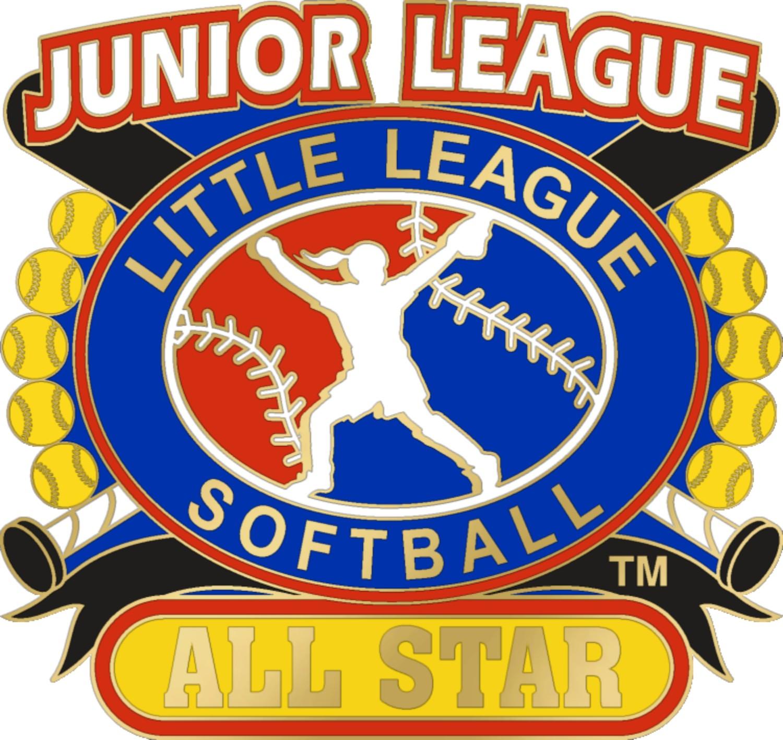 """1 1/4"""" Junior League All Star Softball Pin-3078"""