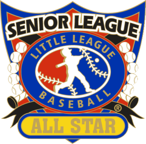 "1 1/4"" Senior League All Star Baseball Pin-2812"