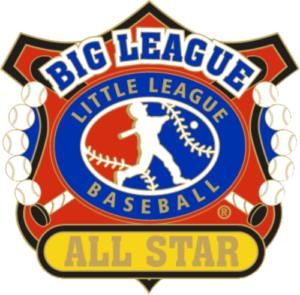 "1 1/4"" Big League All Star Baseball Pin-2817"