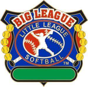 "1 1/4"" Big League All Purpose Softball Pin-3083"