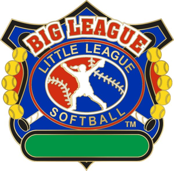 "1 1/4"" Big League All Purpose Softball Pin-3083"