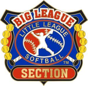 "1 1/4"" Big League Section Softball Pin-3085"