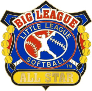 "1 1/4"" Big League All Star Softball Pin-3087"