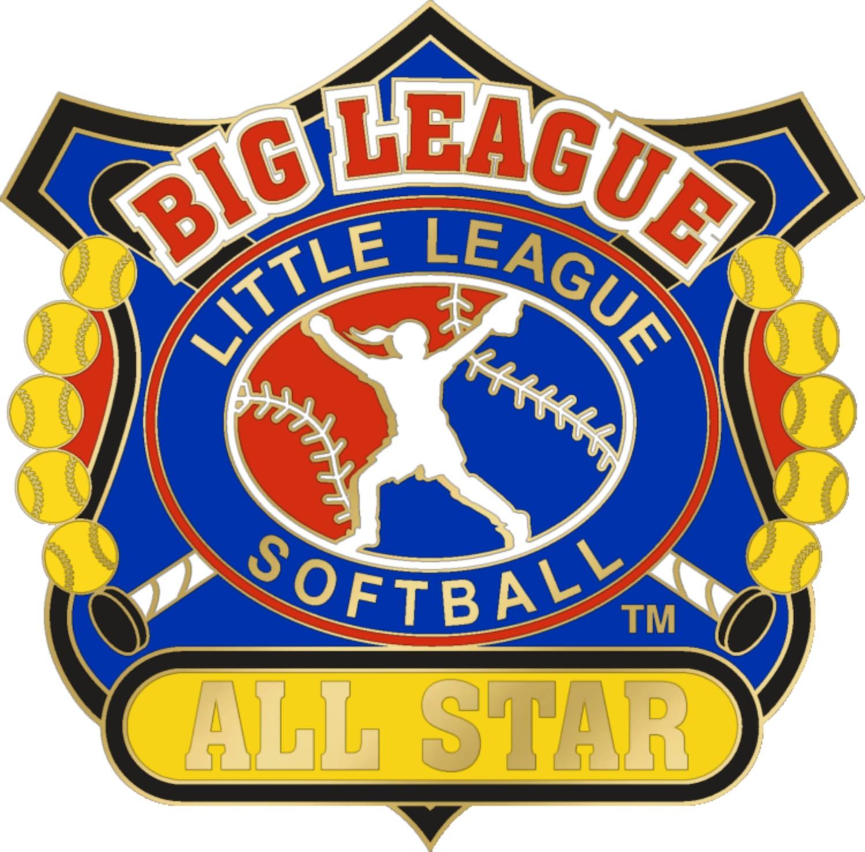 "1 1/4"" Big League All Star Softball Pin-3087"