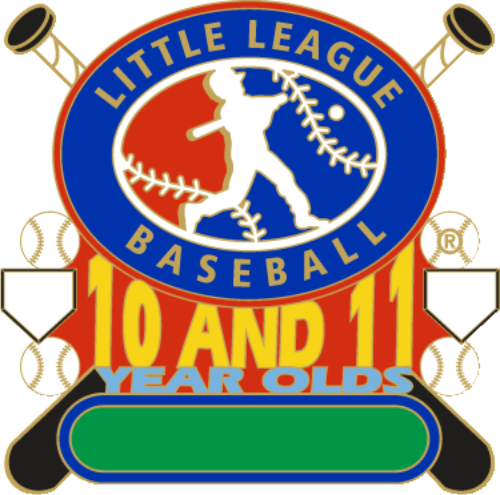 "1 1/4"" 10-11 All Purpose Baseball Pin-2792"