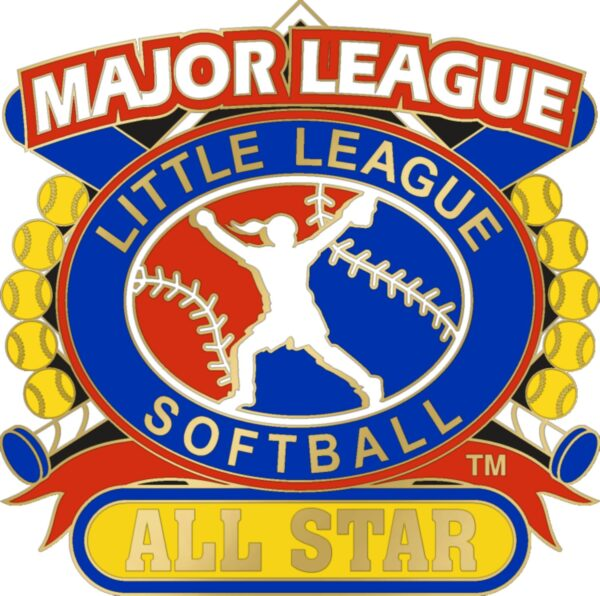 "1 1/4"" Major League All Star Softball Pin-3075"