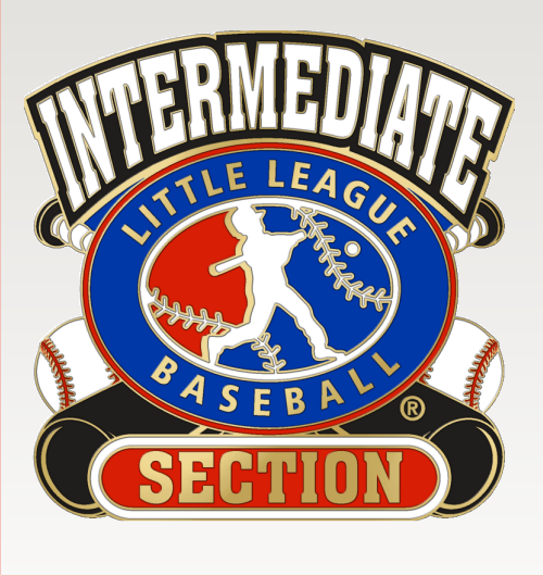 "1 1/4"" Intermediate Section Baseball Pin-2826"
