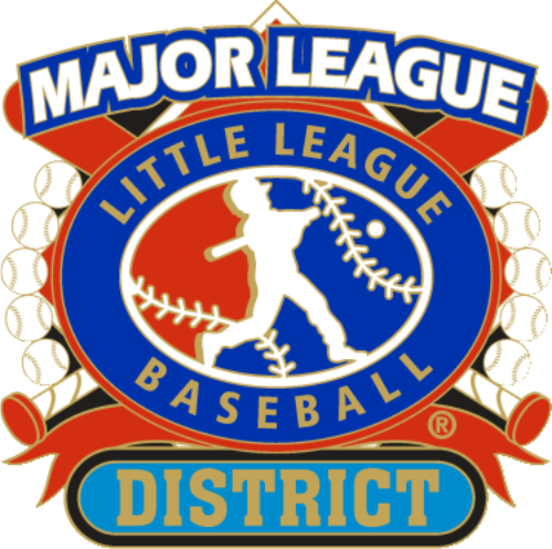 "1 1/4"" Major League District Baseball Pin-2798"
