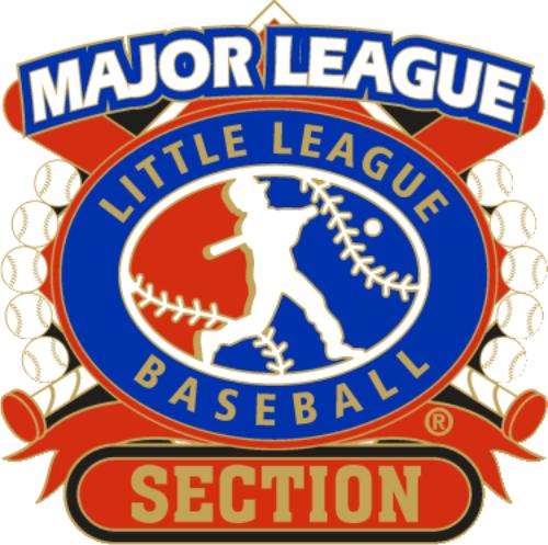 """1 1/4"""" Major League Section Baseball Pin-2800"""