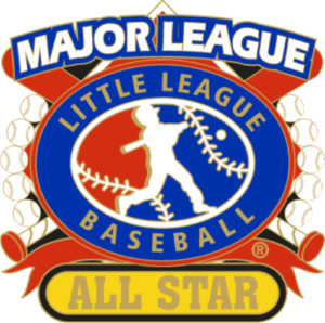 "1 1/4"" Major League All Star Baseball Pin-2802"