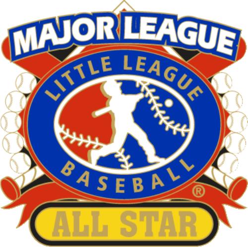 "1 1/4"" Major League All Star Baseball Pin-2802"