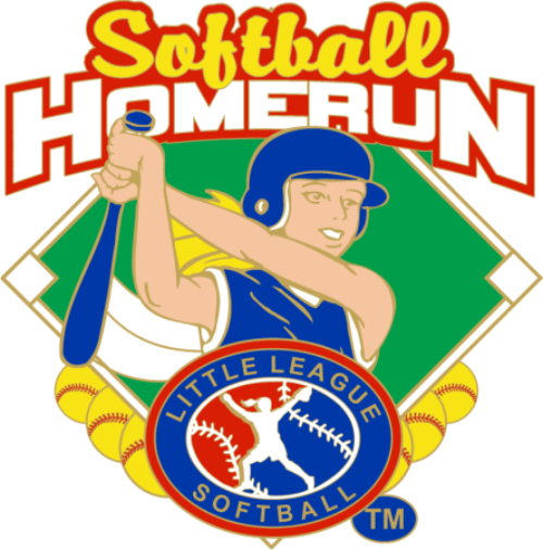 "1.25"" SOFTBALL HOMERUN-2864"