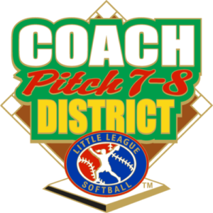 "1.25"" SOFTBALL COACH PITCH 7-8 DISTRICT-2868"