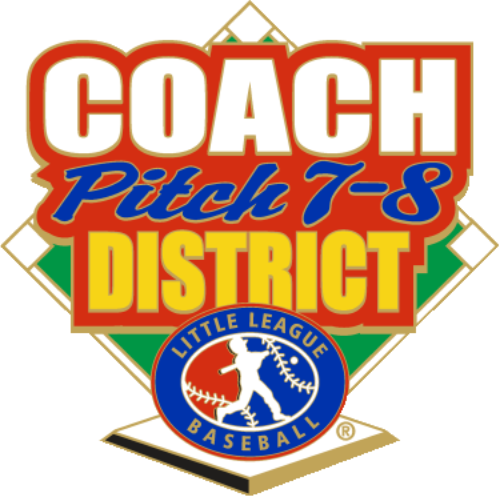 "1.25"" COACH PITCH 7-8 DISTRICT-2907"