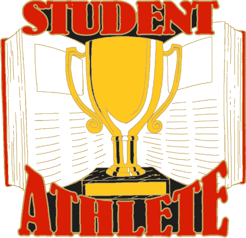 "1"" Student Athlete School Pin-2931"