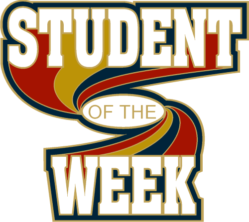 """1"""" Student of the Week School Pin-2923"""