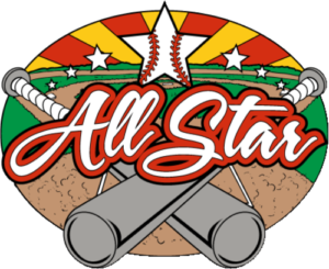 "1 1/4"" All Star Bat Baseball Pin-2983"