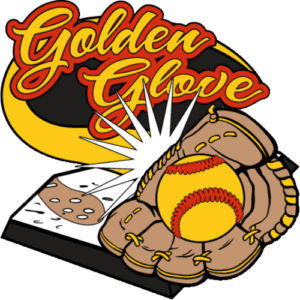 "1 1/4"" Golden Glove Softball Pin-2963"