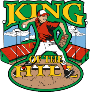 "1.25"" King of the Hill Baseball Pin-2984"