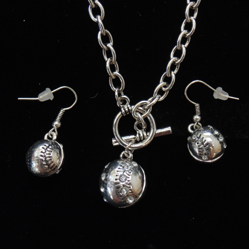 Baseball/Softball Necklace set-3040