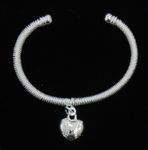Dangle Heart Bracelet-3025