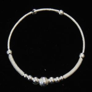 Beaded Hoop Bracelet-3028