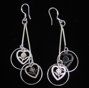 Baseball/Softball Dangle Earrings-3034