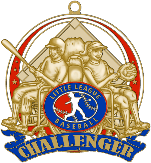"2.5"" Little League Challenger Medal-2949"