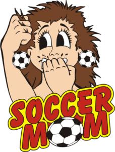 "1"" Soccer Mom-3048"