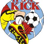 1″ It's a Kick Soccer pin