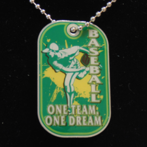 Baseball One Team One Dream Dog Tag-3054