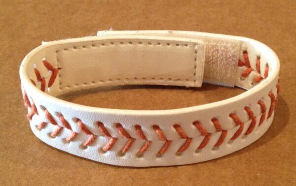 Baseball Stitch Leather Bracelet -3113