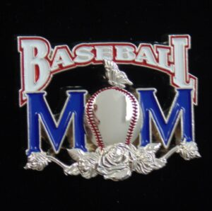 Baseball Mom Pin-3114