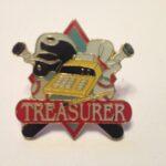1.25″ TREASURER PIN