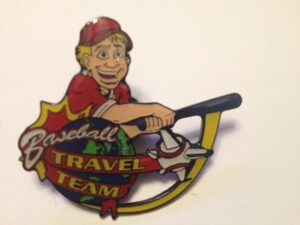 "1.75"" BASEBALL TRAVEL TEAM TRADER-3201"
