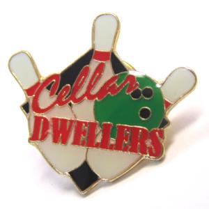 "1"" CELLAR DWELLERS BOWLING PIN-3185"