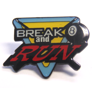 "1"" BREAK AND RUN POOL PIN-3181"